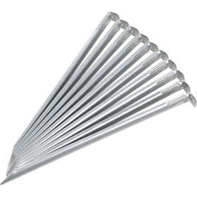 CAMPZ Śledzie stalowe 30cm 1mm, silver